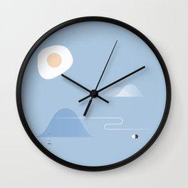 Eggcellent Wall Clock