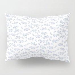 Blue Roses Pillow Sham