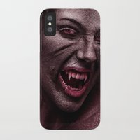 vampire diaries iPhone & iPod Cases featuring vampire by Photoplace