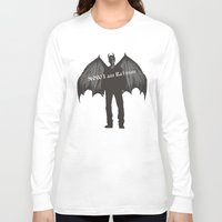 dean winchester Long Sleeve T-shirts featuring  Dean Winchester, demon Dean  by  Marina Teyya