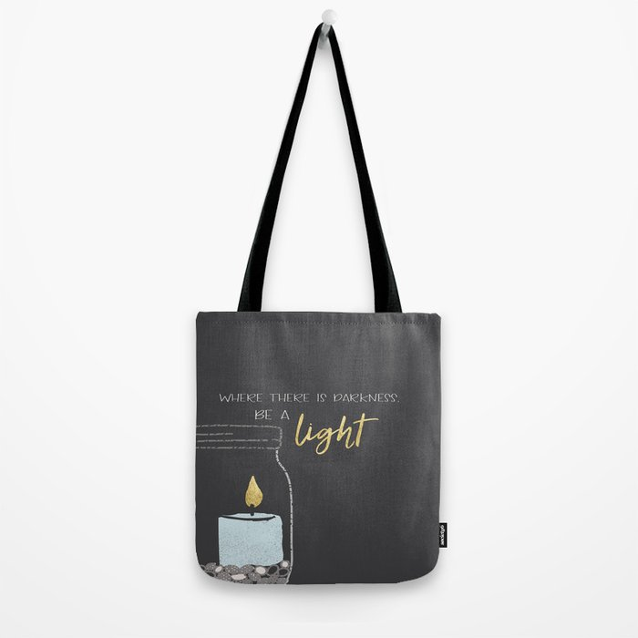 Be a light Tote Bag