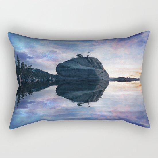 Rock Sunset Rectangular Pillow