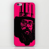 literature iPhone & iPod Skins featuring Outlaws of Literature (Allen Ginsberg) by Silvio Ledbetter