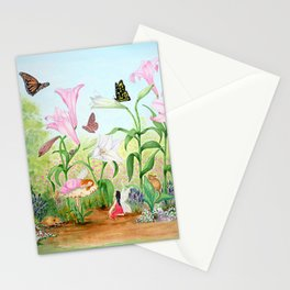 Fairy Garden#1 Stationery Cards
