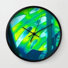 Tropical Exuberance III Wall Clock