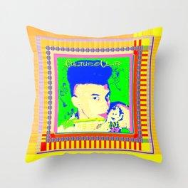 culture club Throw Pillow