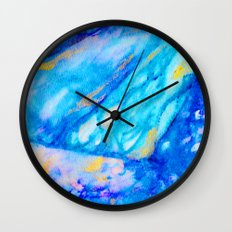 Rain in the Sun Wall Clock