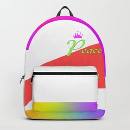 PEACE AND GOODWILL Backpack