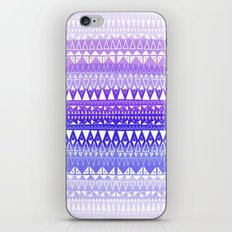 Triangle Gradient Lilac Mix iPhone & iPod Skin