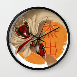 WP: A Proper Story | Knock Out Wall Clock