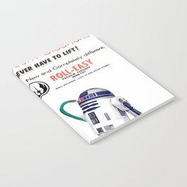R2D2 Vacuum Notebook