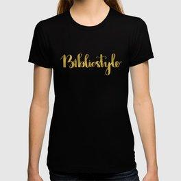 Bibliostyle T-shirt