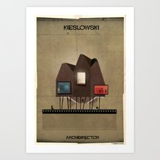 022_ARCHIDIRECTOR_Krzysztof Kieslowski Art Print