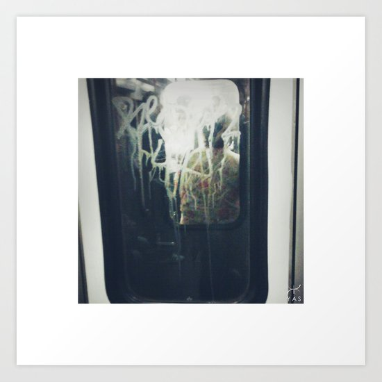 M.e.t.r.o. Art Print