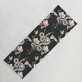 Magnolia and Serpent Yoga Mat