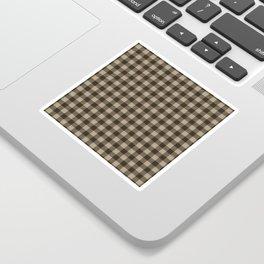 Plaid (brown/beige) Sticker