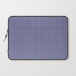 Midnight Blue Gingham Laptop Sleeve