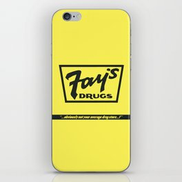 Fay's Drugs | the Immortal Yellow Bag iPhone Skin