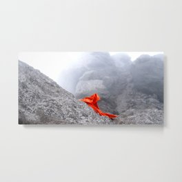 orange slayer in a stone age Metal Print