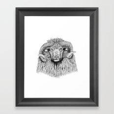 The Symbol Framed Art Print