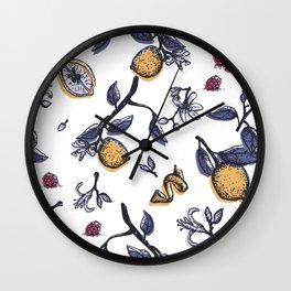 Citric mood Wall Clock
