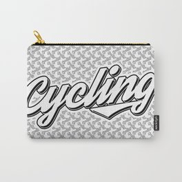 cycling typo Carry-All Pouch