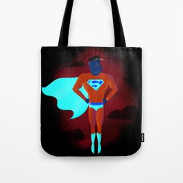 Look! Up in the sky! Tote Bag