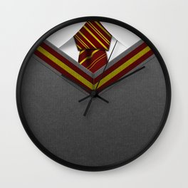 GRYFFINDOR SUIT Wall Clock