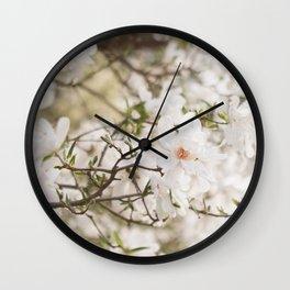 The Magnolia Tree Wall Clock