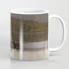 Fishing in Silence Coffee Mug