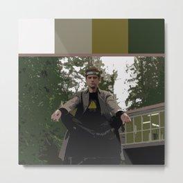 David Haller (Color Swatch) 2 Metal Print
