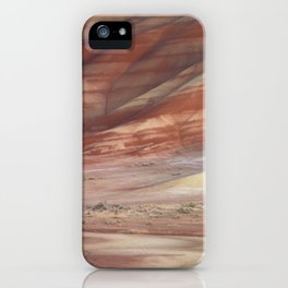 Hills Painted by Earth Minerals iPhone Case