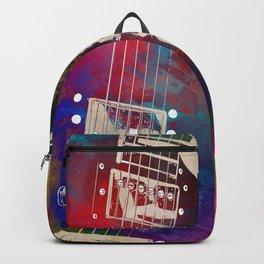 Guitar art 18 #guitar #music Backpack