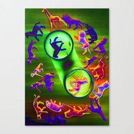 sacrificial circle Canvas Print