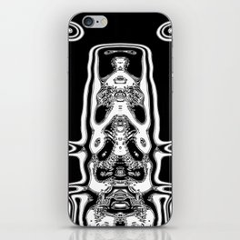 Mono alien iPhone Skin