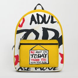 No Thank You Backpack
