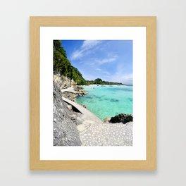 Boracay Bay Framed Art Print