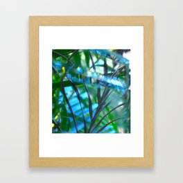 Paradise reflected Framed Art Print