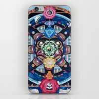 chakra iPhone & iPod Skins featuring Earth Chakra by The Art of Eric Carson