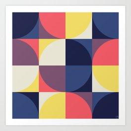Quarters Quilt 1 Art Print