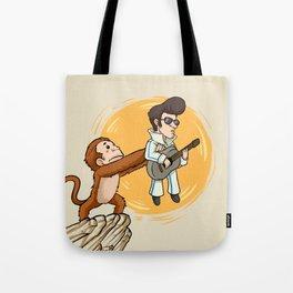 Hail the True King | Monkeys, Music & Jumpsuits Tote Bag