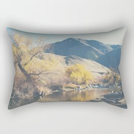 down by the river ... Rectangular Pillow