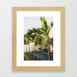 Bali Palm Framed Art Print