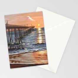 Sunrise Over Nags Head North Carolina Stationery Cards