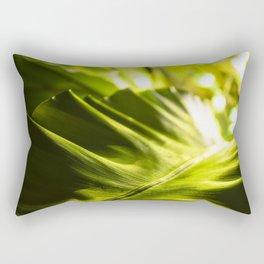 The Night Garden Green Rectangular Pillow