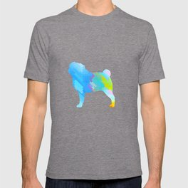 Pugs Pattern T-shirt