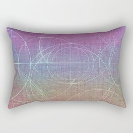 Aurea (Magenta Version) Rectangular Pillow