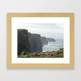 Cliffs of Moher Ireland Framed Art Print
