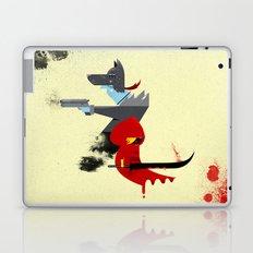 Red Hood & The Badass Wolf Redux Laptop & iPad Skin