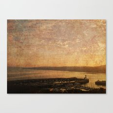 Calm Harbour Canvas Print